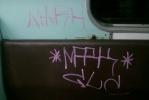Фоторепортаж: «Хулиганская «роспись» вагона метро – фоторепортаж»