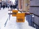 Как борются с сосульками в Стокгольме? (фото): Фоторепортаж