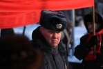 Фоторепортаж: ««Кипит наш разум возмущённый»: на площади Ленина прошел митинг коммунистов»