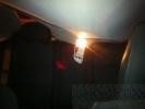 Фоторепортаж: «Кусок льда весом в 100 килограммов попал в автомобиль, стоящий в пробке (фото)»