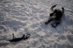В парке «Екатерингоф» играли в войнушку: Фоторепортаж