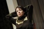 На встрече со школьниками Чулпан Хаматова отказалась от микрофона: Фоторепортаж