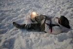 Фоторепортаж: «В парке «Екатерингоф» играли в войнушку»