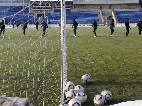«Зенит» тренировался на «Петровском»: Фото