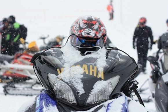 Чемпионат Петербурга и Ленобласти по кантри кроссу на снегоходах (фоторепортаж): Фото