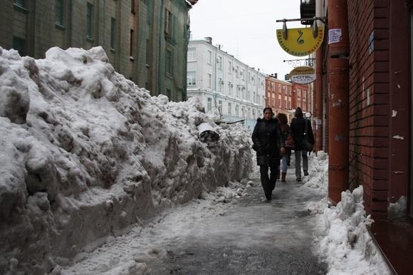 Петербургская слякоть: новые опасности: Фото
