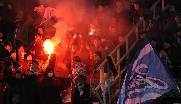 «Зенит» холодно принял швейцарских «мальчиков»: Фото