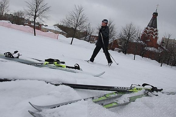 Фоторепортаж с Купчинской лыжни: Фото