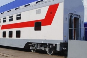По российским железным дорогам пойдут двухэтажные поезда