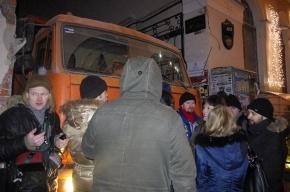 Милиция задержала семерых защитников Литературного дома