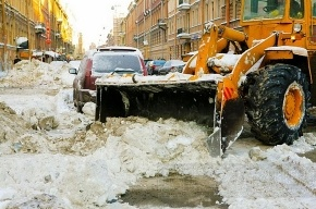 В Кронштадте обстреляли снегоуброчную машину