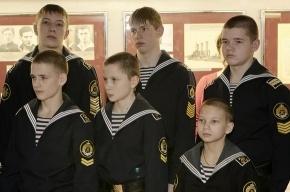 На крейсере «Аврора» наградили лучших кадетов