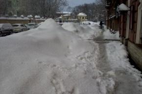 Снежно-ледовый беспредел на Декабристов и Писарева