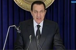 Хосни Мубарак: «Я никогда не предам и не откажусь от исполнения своих обязанностей»