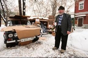 Ветеран войны живет в машине, а чай ходит пить в посольство
