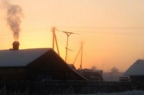 МЧС: в Ленобласти ждут морозов ниже 30 градусов