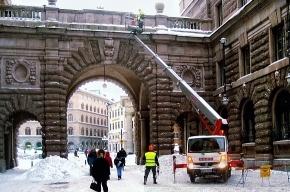 Как борются с сосульками в Стокгольме? (фото)