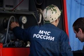В Пушкине горел супермаркет