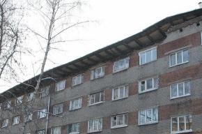В Новосибирске рухнула крыша общежития