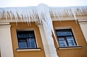 В Петербурге лед упал на 10-летнего ребенка