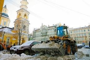 Вице-губернатор проверил, как убирают снег в городе