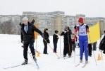 По парку Интернационалистов бегали лыжники в галстуках: Фоторепортаж