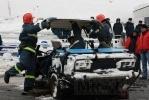 Фоторепортаж: «Пожарные показали, как быстро извлекать пострадавших в ДТП»