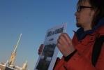 Пикет в защиту археологического музея прошел спокойно: Фоторепортаж