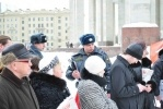 Фоторепортаж: «День Гнева против платного образования прошел у метро «Парк Победы»»