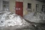 Фоторепортаж: «Снег со двора не вывозили ни разу»