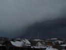 Фоторепортаж: «На Петербург с севера надвигается огромный снежный фронт»