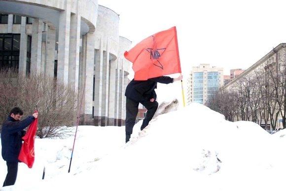 День Гнева против платного образования прошел у метро «Парк Победы»: Фото