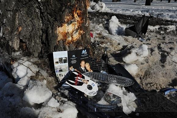 ДТП с машиной Марины Малафеевой: фото места трагедии: Фото