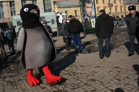 По следам человека-голубя (фоторепортаж): Фото