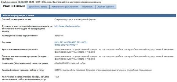 Навальный критикует ректора Смоленского вуза за покупку микроавтобуса стоимостью 4 миллиона: Фото