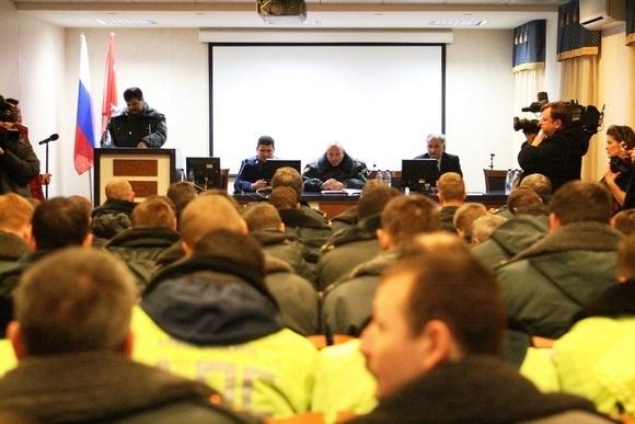 Последний развод нарядов милиции (фоторепортаж): Фото