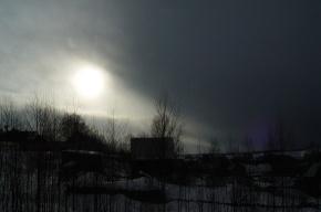 На Петербург с севера надвигается огромный снежный фронт