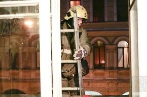 При пожаре в Петербурге спасли 24 человека
