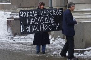 Петербуржцы считают, что вместо «Охта-центра» должен появиться археологический музей