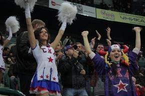 СКА поздравил петербурженок красивой победой