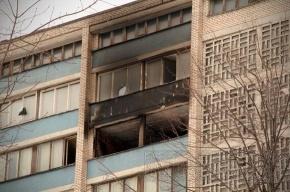 Общежитие на Двинской после пожара: фоторепортаж