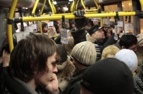 Единственный автобус с Петроградки в Центр ходит как попало