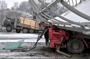 В пригороде Владивостока рухнул виадук
