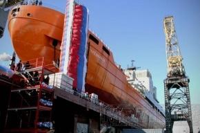 В Петербурге спустили на воду научное судно