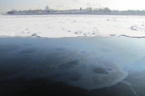 Нефтепродукты просочились в Неву «через стенки набережной»