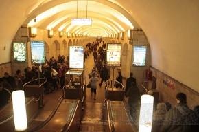 На «Площади Александра Невского-2» не работал эскалатор