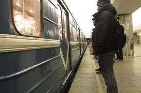 На время остановилась третья ветка метро