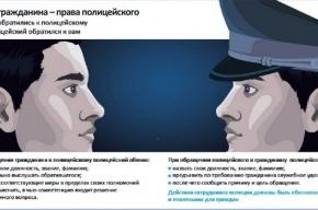 МВД выпустило для граждан памятку о полиции