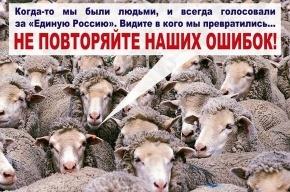 Навальный опубликовал плакаты для конкурса: «Единая Россия - партия жуликов и воров»
