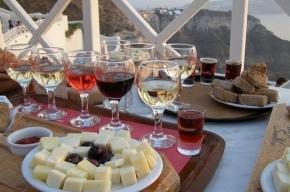 Мое лучшее фото из Греции: вино и закат